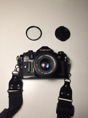 Canon A-1 with 50mm f1.8 FD lens for Sale in Los Angeles, CA