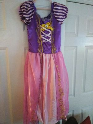 Rapunzel costume - girls size small for Sale in Pinecrest, FL
