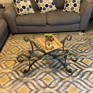Copper Metal Coffe & Side Tables 3 pc set for Sale in Niederwald, TX