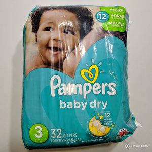 Size 3 diapers for Sale in Mt. Juliet, TN