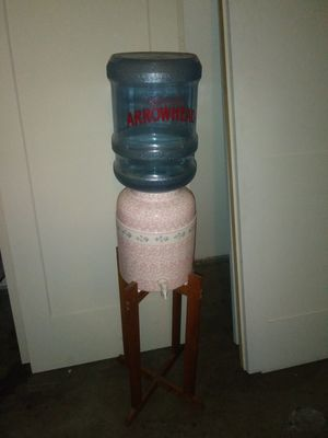 Vintage Water jug stand 52 inches height for Sale in Oceano, CA