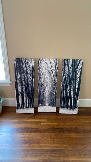 Set of 3 wall art for Sale in Longview, TX
