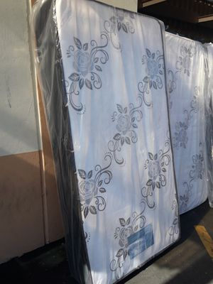 Bed frame with mattress for Sale in El Monte, CA