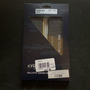 16gb Ram ddr4 2666mhz for Sale in Arlington, TX