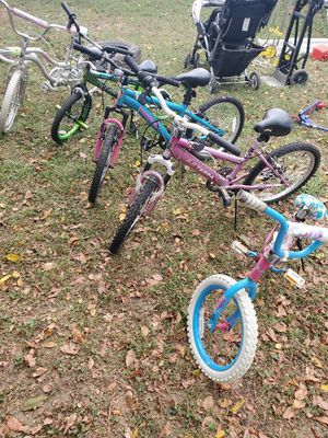 Kids bikes, scooters and toys ,carseat and double stroller for Sale in Virginia Beach, VA