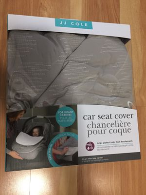 CAR SEAT COVER JJ COLE BRAND NEW $10 for Sale in Rolling Meadows, IL