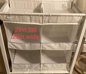 Nursery organizer- White for Sale in Colorado Springs,  CO