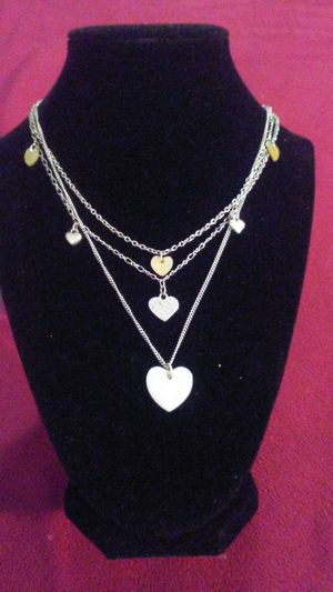 Silver necklace for Sale in Sanger, CA