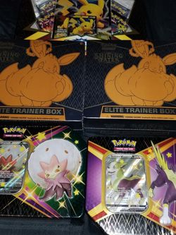 SHINING FATES ETB AND TINS for Sale in Fresno,  CA