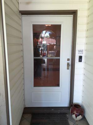 Metal Storm Door for Sale in Tampa, FL