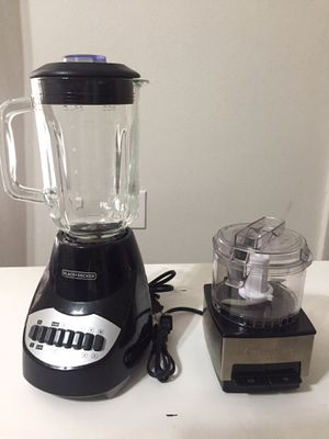BLENDER AND PROCESSOR for Sale in Apopka, FL