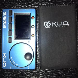 Kliq Digital Tuner Metronome With Amp Jack for Sale in Nashville, TN