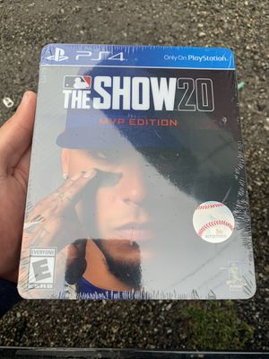 MLB the show 20 MVP Edition (BrandNew) Playstation 4 for Sale in Jurupa Valley, CA