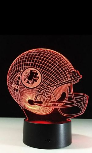 Washington Redskins NFL Night Light Lamp for Sale in Evesham Township, NJ