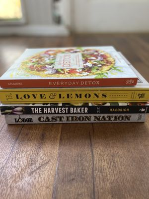 Collection of cook books for Sale in Roseville, CA