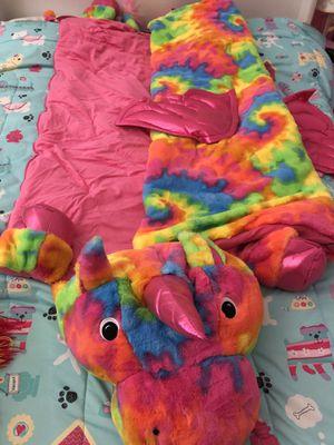 Unicorn sleeping bag for Sale in Rancho Cucamonga, CA