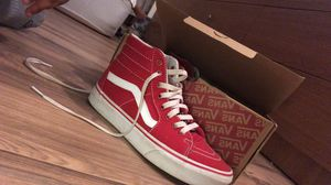Red vans. for Sale in Lakewood Township, NJ