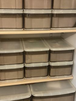 Stackable Drawers Organization - IKEA CONTAINER STORE Kitchen, Bathroom, Closet, Garage, Studio for Sale in Portland,  OR