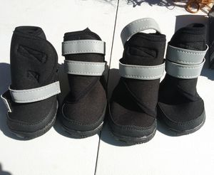 Medium puppy booties for Sale in Victorville, CA