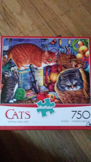 """Puzzle """"Potting Shed Cats"""" 750 pcs for Sale in Fullerton, CA"""