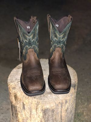 Ariat Steel Toe Work Boots Size 9 D for Sale in Fresno, CA