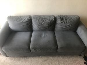 3 seater wayfair couch for Sale in Sudley Springs, VA