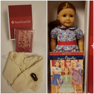 💙💚American Girl Doll Emily with accessories all new in boxes for Sale in Reading, PA
