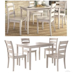 New!! 5 Pc Dining Set,4 Chairs,Dining Table,Furniture,Kitchen Table,Chairs,Dining Room for Sale in Phoenix, AZ