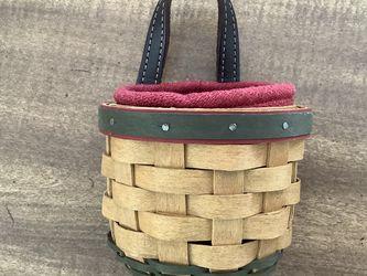 Longaberger Miniature Door-hanging Basket for Sale in Arlington,  VA