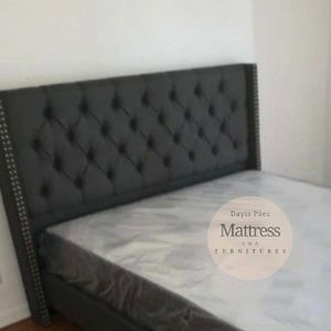 🛌 BED / CAMA   QUEEN for Sale in Miami Gardens, FL