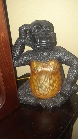 Rare Monkey lamp for Sale in Tampa, FL