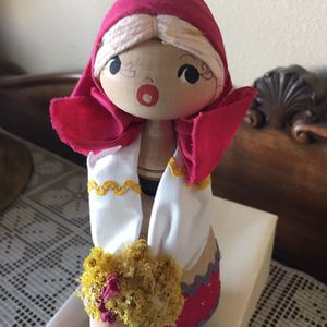 Vintage Wooden Doll From Poland for Sale in Las Vegas, NV