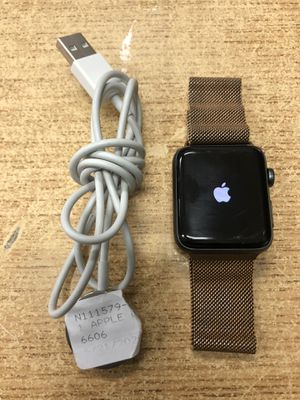 Apple Watch Series 3 (GPS, 42mm) - GOLD METAL BAND .... for Sale in Baltimore, MD