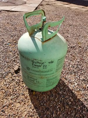 R22 freon 3/4 full for Sale in Phoenix, AZ