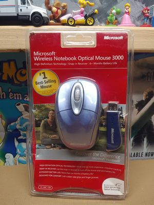NEW SEALED - Microsoft Wireless Notebook Optical Mouse 3000 (1056 / 1051) for Sale in Palmdale, CA