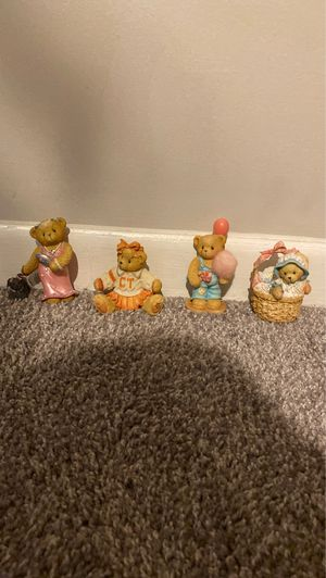 Glass collection bears 5 each buy all for 20 for Sale in Longwood, FL