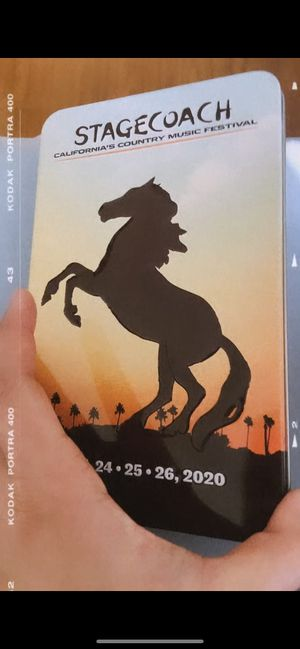 2 STAGECOACH TICKETS. 3 day GA. for Sale in Alhambra, CA