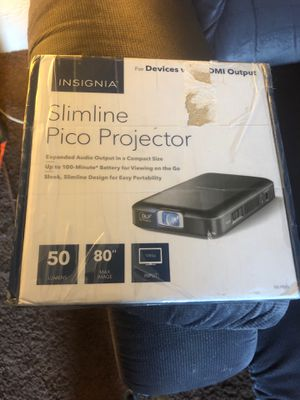 Insignia pico projector for Sale in Eugene, OR