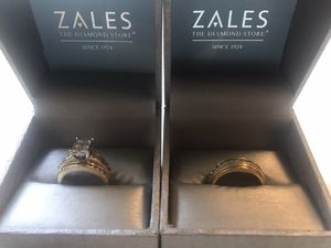 ZALES - 2 1/2 CTW Bridal Set 14kt for Sale in Winter Haven, FL