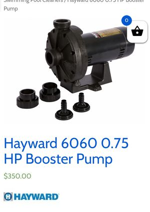 Hayward Pool Booster Pump for Sale in Cedar Park, TX