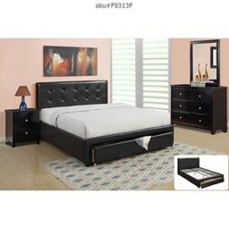 Brand new full or queen bed frame $260 with dresser mirror and 1 nightstand $550 no mattress for Sale in Miami, FL