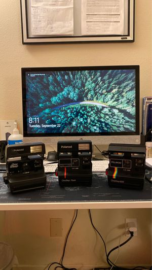 Polaroid cameras Originals from 1980's for Sale in Palos Verdes Estates, CA