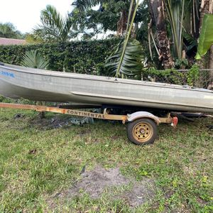 14 Foot Aluminum Jon Boat for Sale in Fort Lauderdale, FL
