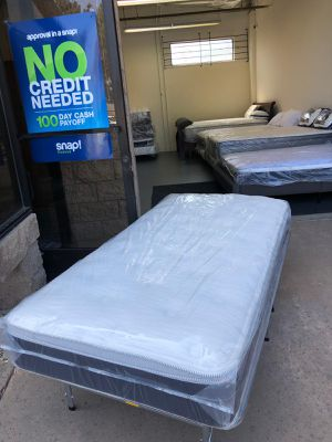 Twin size bed great quality, brand new mattress. for Sale in San Diego, CA