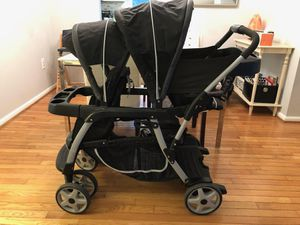 Graco Ready2Grow Click Connect Stand and Ride Stroller for Sale in Aspen Hill, MD