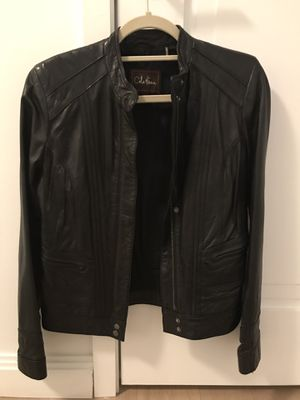 Cole Hann leather jacket for Sale in New York, NY