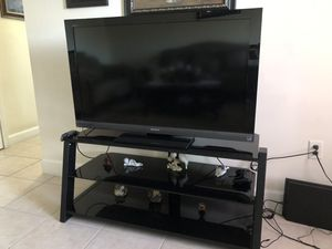 Tv And Stand For Sale 50 inches for Sale in Haines City, FL