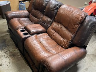 Leather Couch (recliner) for Sale in San Diego,  CA