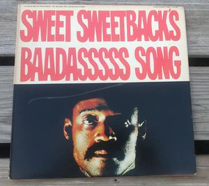 Sweet Sweetback's BadassssSs Song Vinyl Album Stax Records 1971 Blaxploitation Movie Soundtrack for Sale in Orlando, FL