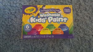 Washable Kid's Paint. for Sale in Norfolk, VA